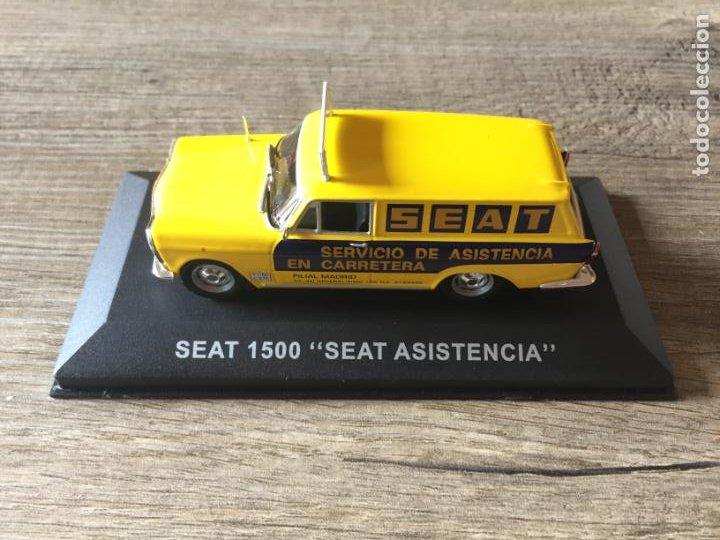 "FURGONETA CLÁSICA DE ANTAÑO SEAT 1500 "" SEAT ASISTENCIA "" ALTAYA (Juguetes - Coches a Escala 1:43 Otras Marcas)"