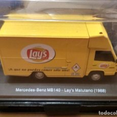 Coches a escala: MERCEDES BENZ MB140 LAY'S MATUTANO 1988. Lote 215033087
