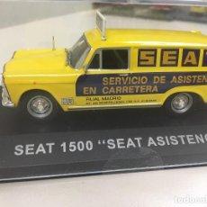 """Carros em escala: SEAT 1500 """"SEAT ASISTENCIA"""". FURGONETAS DE ANTAÑO. ESCALA 1:43 METAL. Lote 215094251"""