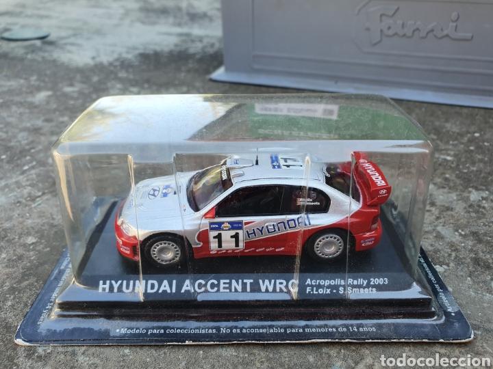 HYUNDAI ACCENT WRC 1/43 (Juguetes - Coches a Escala 1:43 Otras Marcas)