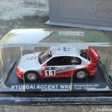 Carros em escala: HYUNDAI ACCENT WRC 1/43. Lote 215141246