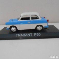 Carros em escala: COCHE TRABANT P50 MODEL CAR 1/43 1:43 MINIATURE MINIATURA. Lote 215244998