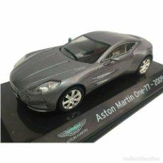 Carros em escala: ASTON MARTIN ONE-77 2009 1:43 IXO SALVAT DIECAST COCHE SUPERCAR. Lote 215549060