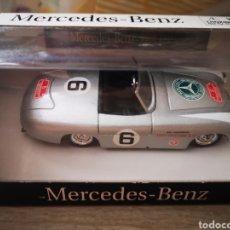 Coches a escala: MERCEDES BENZ 300SL CABRIO DE 1952. NEW RAY ESCALA 1/43. Lote 216432535