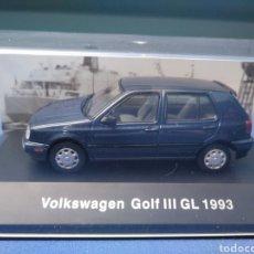 Coches a escala: VOLKSWAGEN GOLF GL SERIE III, AÑO 1993, COLECCIÓN VOLKSWAGEN DE ALTAYA 1/43. Lote 217263605