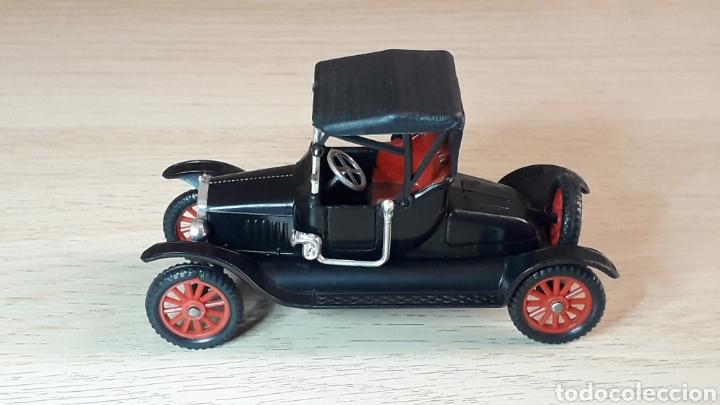 Coches a escala: Ford T *negro* nº 6, plástico esc. 1/43, Anguplas Super Mini-Cars made in Spain, original año 1963. - Foto 2 - 217349291