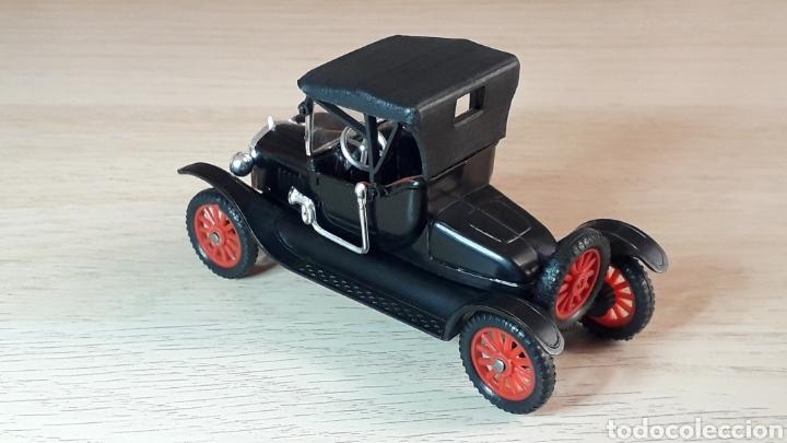Coches a escala: Ford T *negro* nº 6, plástico esc. 1/43, Anguplas Super Mini-Cars made in Spain, original año 1963. - Foto 3 - 217349291