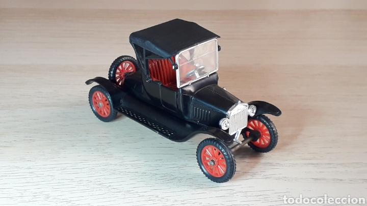 Coches a escala: Ford T *negro* nº 6, plástico esc. 1/43, Anguplas Super Mini-Cars made in Spain, original año 1963. - Foto 5 - 217349291