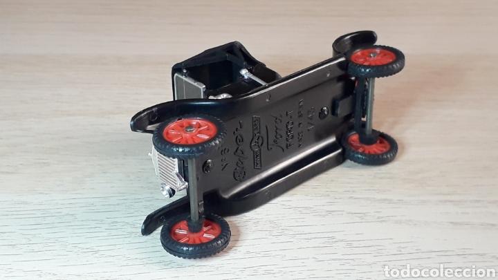 Coches a escala: Ford T *negro* nº 6, plástico esc. 1/43, Anguplas Super Mini-Cars made in Spain, original año 1963. - Foto 6 - 217349291