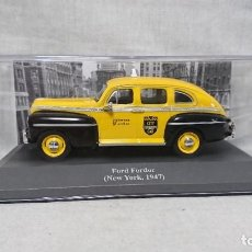 Coches a escala: FORD FORDOR, TAXI, NEW YORK 1947, ESCALA 1:43. Lote 217555402