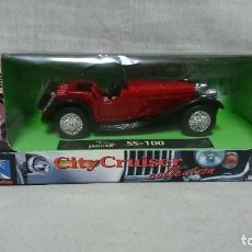 Coches a escala: JAGUAR SS 100 , NEW RAY, ESCALA 1:43. Lote 217558067