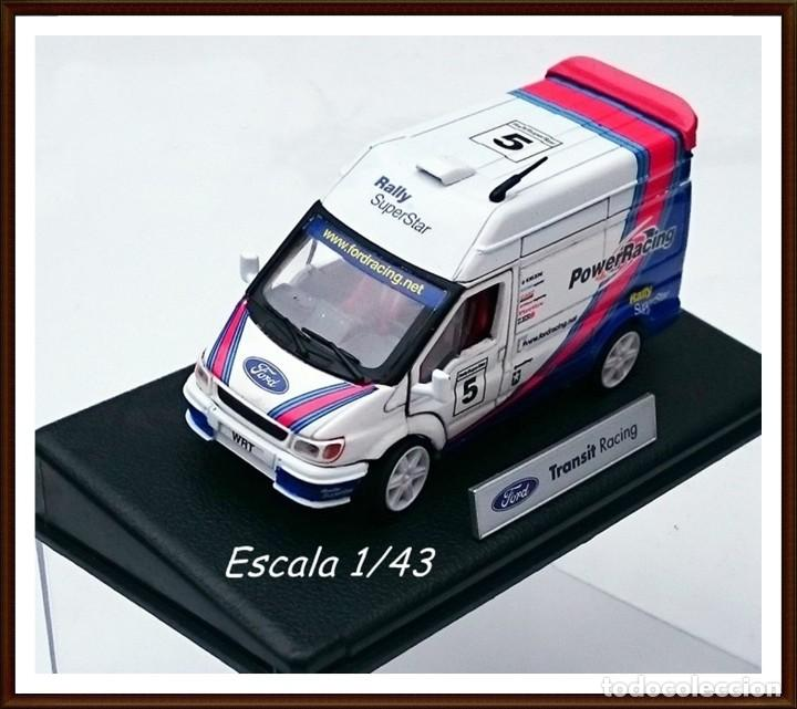 UNIQUE REPLICAS FORD TRANSIT SUPERVAN RALLY SUPERSTAR / SERIE EXCLUSIVA DE FORD - OBSOLETA (Juguetes - Coches a Escala 1:43 Otras Marcas)