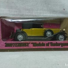Coches a escala: PACKARD VICTORIA 1930, MATCHBOX, MODELS OF YESTERYEAR, ESCALA 1:43. Lote 217593861