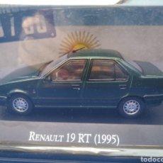 Coches a escala: RENAULT 19 RT (1995),COLECCION ARGENTINA AÑOS 80/90, SALVAT , ALTAYA 1/43.. Lote 217616762