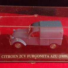 Auto in scala: CITROEN 2CV FURGONETA AZU (1959) METAL EN PERFECTO ESTADO. Lote 217927777
