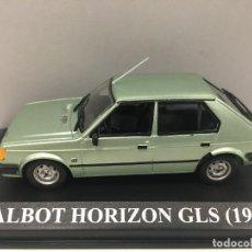 Coches a escala: COCHE TALBOT HORIZON GLS 1980 CON URNA DE METACRILATO ESCALA 1/43.. Lote 284155248