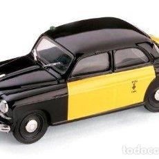 Carros em escala: FIAT 1400B TAXI DE BARCELONA 1956 1:43 BRUMM. Lote 218379795