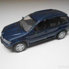Auto in scala: COCHE BMW X5 BMWX5 1/43 1:43 MODEL CAR NEGRO. Lote 218394740