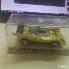 Coches a escala: JOAL MC LAREN GRAN TOROS N 122. Lote 218498715