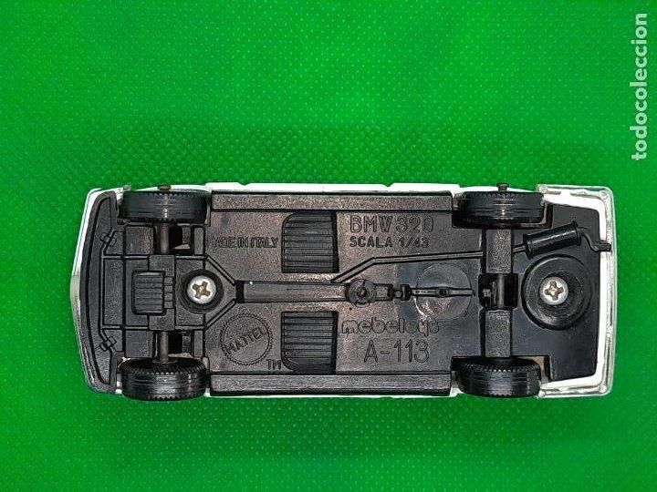 Coches a escala: BMW 320 - MEBETOYS - MATTEL - HOT WHEELS - ESC. 1/43 - MADE IN ITALY - REF. MEBETOYS A113 - Foto 9 - 218565573