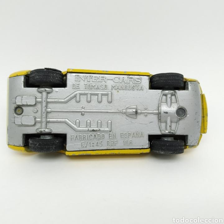 Coches a escala: De Tomaso Mangusta de INTER-CARS (Nacoral) escala 1/43 referencia 106 - Foto 5 - 218742641