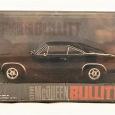Coches a escala: BULLIT DODGE CHARGER R/T STEVE MCQUEEN 1968 BY GREENLIGHT HOLLYWOOD. Lote 219089745