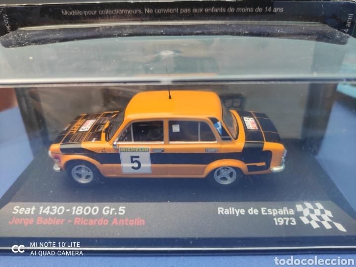 SEAT 1430-1800 GR.5 RALLYE DE ESPAÑA 1973, JORGE BABLER. NUEVO Y EN CAJA. 1/43 (Juguetes - Coches a Escala 1:43 Otras Marcas)