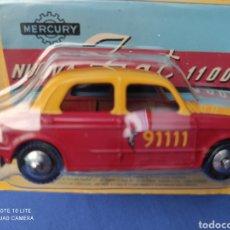 Coches a escala: MERCURY MODELO FIAT 1100, HACHETTE. NUEVO Y EN BLISTER. 1/43. Lote 219198366