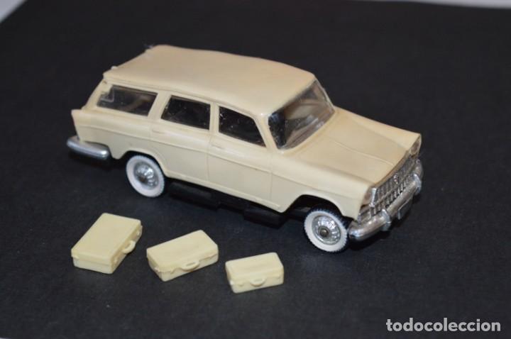 SEAT 1400 C - ESCALA 1/43 - MINI CARS MINICARS SUPER / ANGUPLAS - AÑOS 60 ¡MUY RARO Y DIFÍCIL, MIRA! (Juguetes - Coches a Escala 1:43 Otras Marcas)