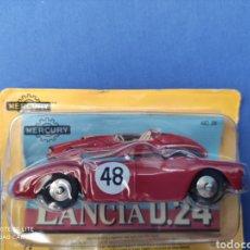 Coches a escala: MERCURY MODELO LANCIA D.24, HACHETTE. NUEVO Y EN BLISTER. 1/43. Lote 244918530