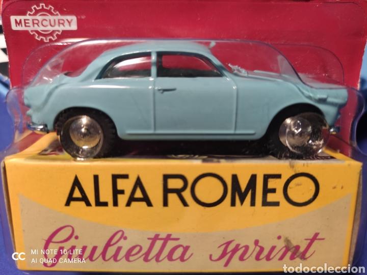 MERCURY MODELO ALFA ROMEO GIULIETTA SPRINT, HACHETTE. NUEVO Y EN BLISTER. 1/43 (Juguetes - Coches a Escala 1:43 Otras Marcas)