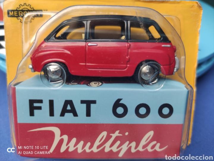 MERCURY MODELO FIAT 600 MULTIPLA, HACHETTE. NUEVO Y EN BLISTER. 1/43 (Juguetes - Coches a Escala 1:43 Otras Marcas)