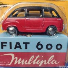Coches a escala: MERCURY MODELO FIAT 600 MULTIPLA, HACHETTE. NUEVO Y EN BLISTER. 1/43. Lote 219553940