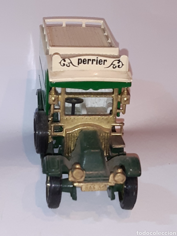 """Coches a escala: MATCHBOX Models of Yesteryear, metal, 1/43, camioneta RENAULT """"Perrier"""", nueva, solo expuesta. - Foto 2 - 219736516"""