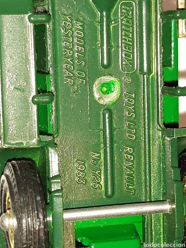 """Coches a escala: MATCHBOX Models of Yesteryear, metal, 1/43, camioneta RENAULT """"Perrier"""", nueva, solo expuesta. - Foto 4 - 219736516"""