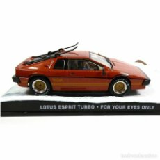 Carros em escala: LOTUS SPRIT TURBO 1:43 007 JAMES BOND SOLO PARA SUS OJOS DIECAST. Lote 220387235