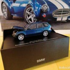 Coches a escala: BMW X5 4,4I DE COLECCIÓN EN SU CAJA DE LUJO Y ESTUCHE ADQUIRIDO EN EL MUSEO BMW DE MUNICH.. Lote 220845296