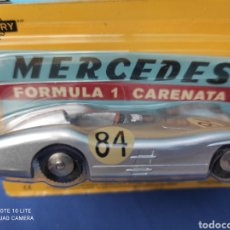 Coches a escala: MERCURY MODELO MERCEDES FORMULA 1 CARENATA, HACHETTE. NUEVO Y EN BLISTER. 1/43. Lote 244918500