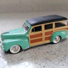 Coches a escala: ROAD SIGNATURE 94251 - FORD WOODY 1948 EN EL ESTADO QUE MUESTRAN LAS FOTOS. Lote 221752515