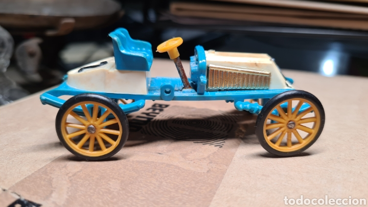 Coches a escala: Coche escala Minialuxe Renault 1903 Paris Madrid - Foto 2 - 221781653