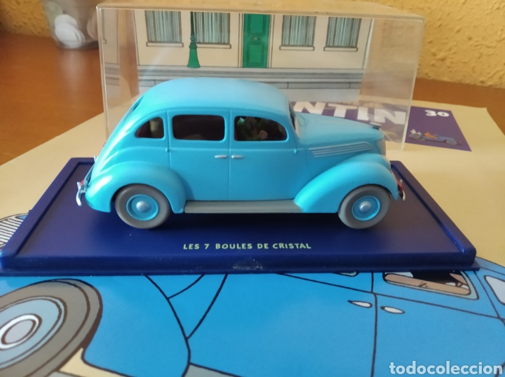 Coches a escala: Coche Tintin Les 7 boules de cristal - Foto 3 - 222129638
