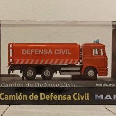 Coches a escala: COCHE SOL90 CAMION DE DEFENSA CIVIL MAN. Lote 222593751
