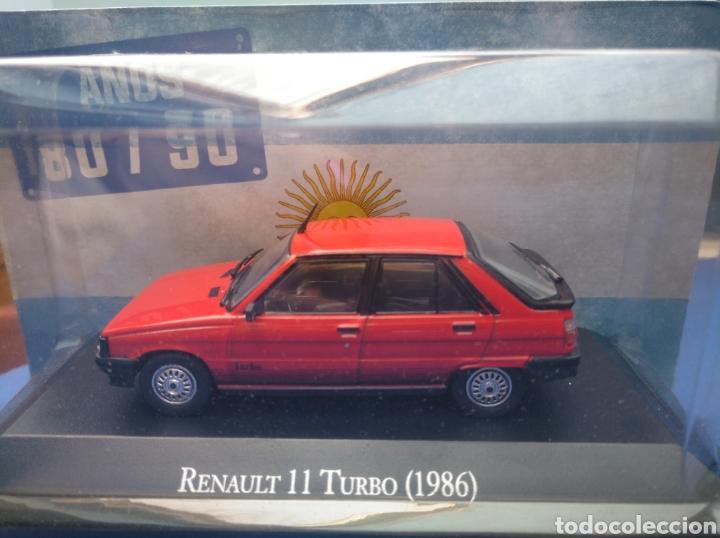 RENAULT 11 TURBO (1986),COLECCION ARGENTINA AÑOS 80/90, SALVAT , ALTAYA 1/43. (Juguetes - Coches a Escala 1:43 Otras Marcas)