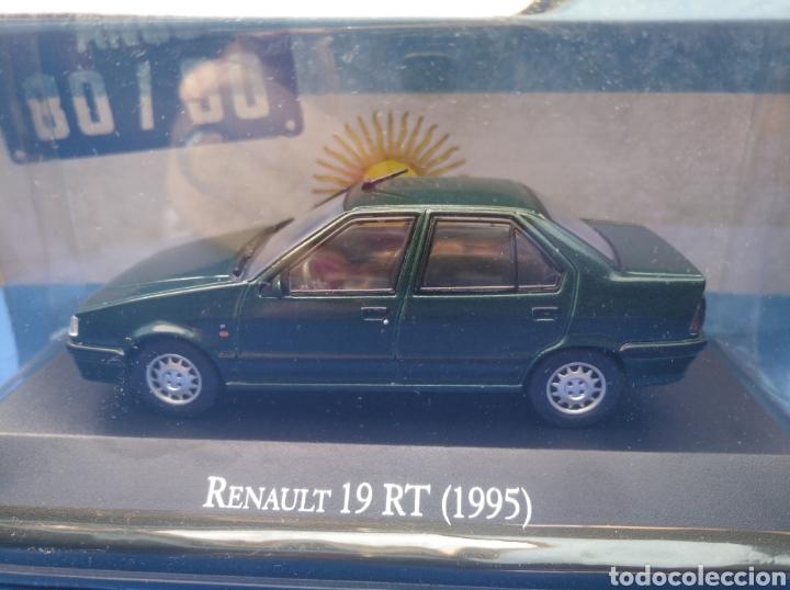 RENAULT 19 RT (1995),COLECCION ARGENTINA AÑOS 80/90, SALVAT , ALTAYA 1/43. (Juguetes - Coches a Escala 1:43 Otras Marcas)