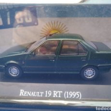 Coches a escala: RENAULT 19 RT (1995),COLECCION ARGENTINA AÑOS 80/90, SALVAT , ALTAYA 1/43.. Lote 241448380