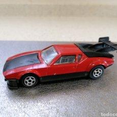 Coches a escala: NOREV 829-2 - DE TOMASO PANTERA GT4 1982 EN BUEN ESTADO, EXCEPTO MANCHA EN EL CAPO DELANTERO. Lote 222985175