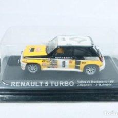Auto in scala: RENAULT 5 TURBO - RALLY DE MONTECARLO 1981 - J. RAGNOTTI J-M. ANDRIE - SIN ABRIR. Lote 223291981