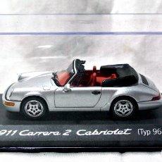 Coches a escala: COCHE PORSCHE 911 CARRERA 2 CABRIOLET TYP 964 EDICION LIMITADA PORSCHE, NUEVO, WAP 020 038 97 *. Lote 223564875