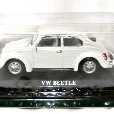 Coches a escala: COCHE VOLKSWAGEN VW BEETLE 1973 , DEL PRADO, 1:43, NUEVO EMPAQUE SELLADO *. Lote 223608627