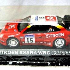 Coches a escala: COCHE CITROEN XSARA WRC TOUR DE CORSE 2001 ,ALTAYA, 1:43 ,NUEVO SELLADO *. Lote 128526727